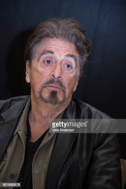 Al Pacino at the 'Paterno' Press Conference at the Montage Hotel on March 13 2018 in Beverly Hills California
