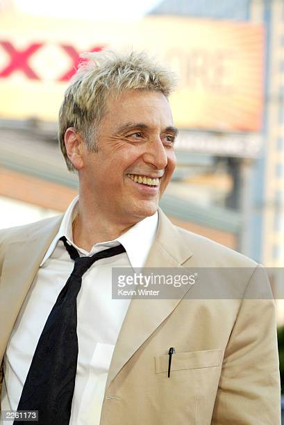 """Al Pacino at the premiere of """"Simone"""" at the Mann National Theater and after-party at Napa Vally restaurant in Westwood, Ca. Tuesday, August 13,..."""