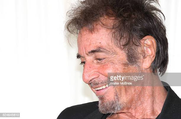 Al Pacino attending the 'Glengarry Glen Ross' Media Day at Ballet Hispanico Rehearsal Studios in New York City on 9/19/2012