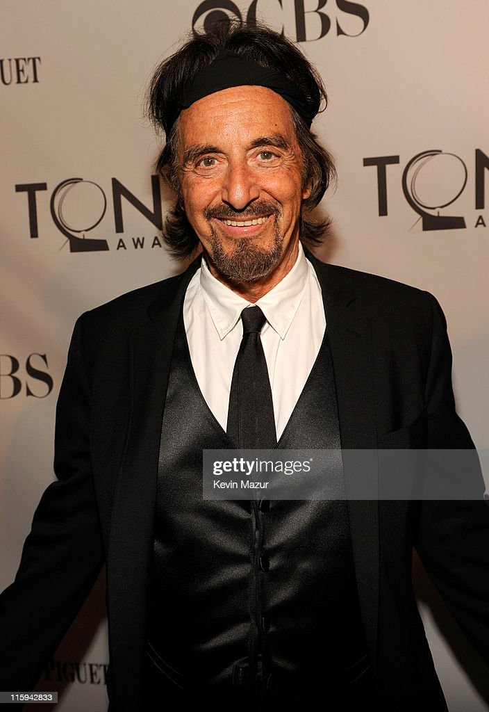 Al Pacino attends the 65th Annual Tony Awards at the Beacon Theatre on June 12, 2011 in New York City.