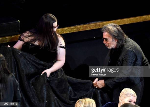 Al Pacino attends the 92nd Annual Academy Awards at Dolby Theatre on February 09 2020 in Hollywood California