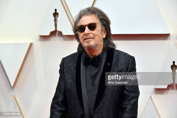 Al Pacino attends the 92nd Annual Academy Awards at Hollywood and Highland on February 09 2020 in Hollywood California