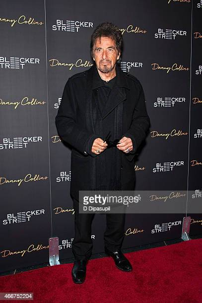Al Pacino attends the Danny Collins New York Premiere at AMC Lincoln Square Theater on March 18 2015 in New York City