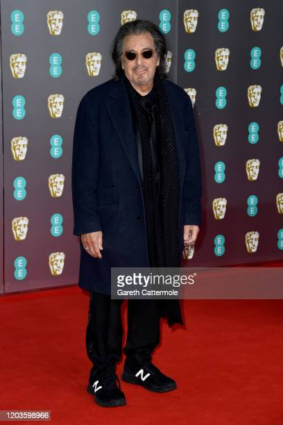 Al Pacino attends the EE British Academy Film Awards 2020 at Royal Albert Hall on February 02, 2020 in London, England.