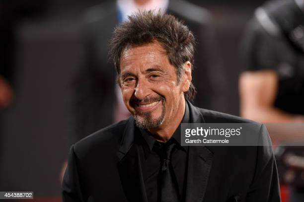 Al Pacino attends 'The Humbling' premiere during the 71st Venice Film Festival on August 30, 2014 in Venice, Italy.