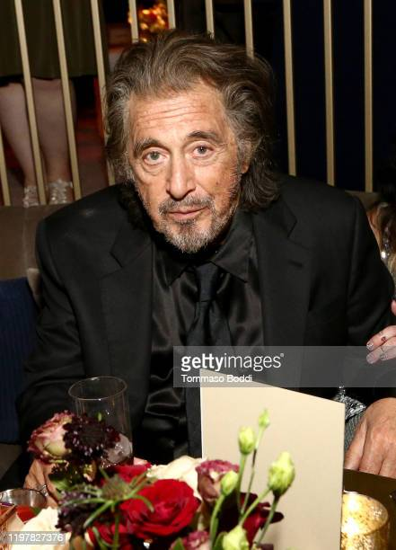 Al Pacino attends the Netflix 2020 Golden Globes After Party on January 05 2020 in Los Angeles California