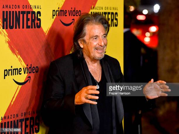 Al Pacino attends the Premiere Of Amazon Prime Video's Hunters at DGA Theater on February 19 2020 in Los Angeles California