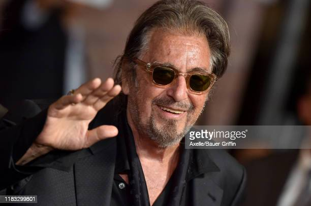 Al Pacino attends the Premiere of Netflix's The Irishman at TCL Chinese Theatre on October 24 2019 in Hollywood California