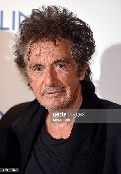 Al Pacino attends the UK Premiere of 'Danny Collins' at Ham Yard Hotel on May 18 2015 in London England