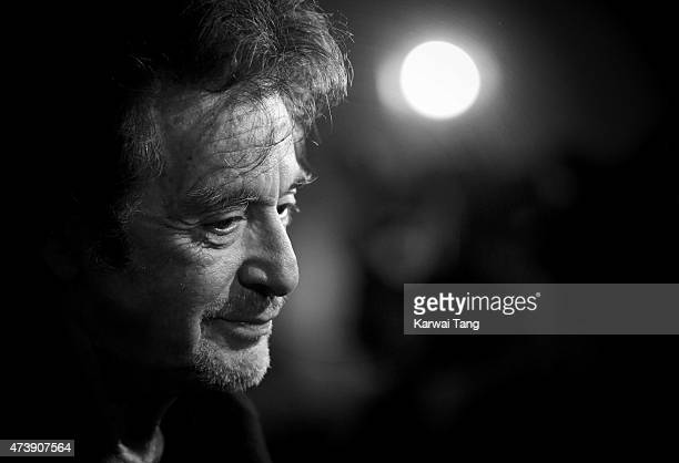 """Al Pacino attends the UK Premiere of """"Danny Collins"""" at Ham Yard Hotel on May 18, 2015 in London, England."""