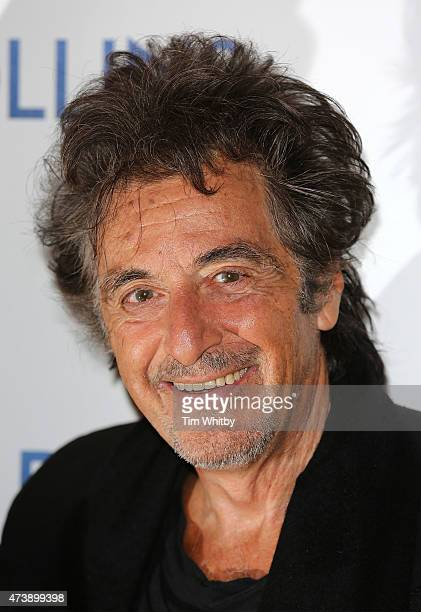 Al Pacino attends the UK Premiere of Danny Collins at the Ham Yard Hotel on May 18 2015 in London England