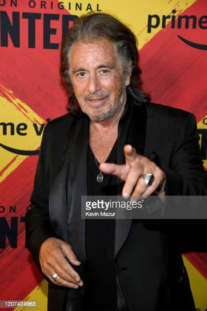 """Al Pacino attends the World Premiere Of Amazon Original """"Hunters"""" at DGA Theater on February 19, 2020 in Los Angeles, California."""