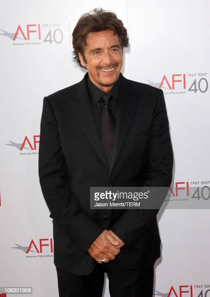 Al Pacino during 35th Annual AFI Life Achievement Award Honoring Al Pacino Arrivals at Kodak Theatre in Hollywood California United States