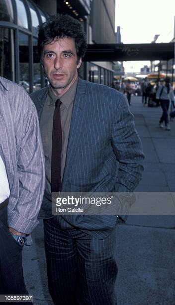 Al Pacino during Al Pacino Sighting at Ginger Man's Restaurant August 20 1986 at Ginger Man's Restaurant in New York City New York United States