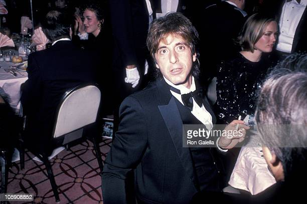 Al Pacino during American Museum of The Moving Image Salutes Sidney Lumet at Waldorf Astoria Hotel in New York City New York United States