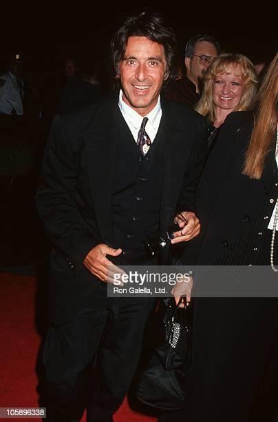 Al Pacino during Glengarry Glen Ross Screening for Actors Fund Benefit at Ziegfield Theater in New York City New York United States