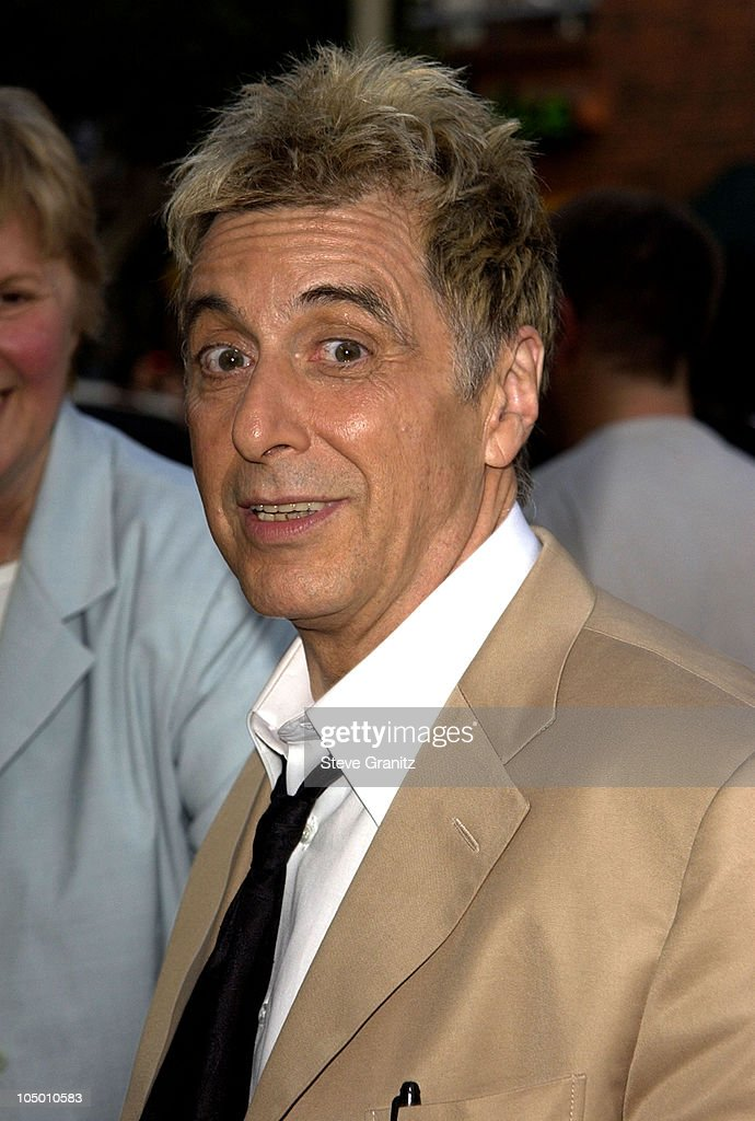 Al Pacino during 'Simone' - Los Angeles Premiere at National Theatre in Westwood, California, United States.