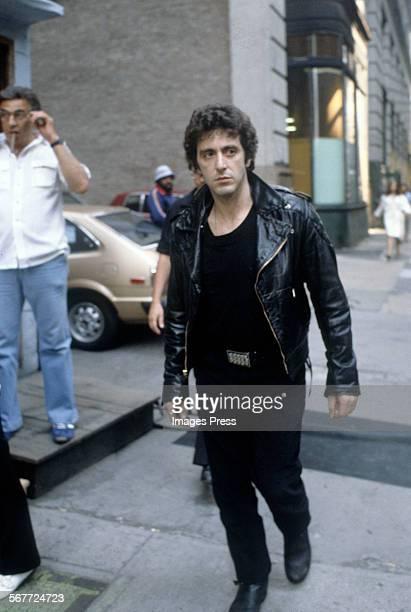 Al Pacino filming 'Cruising' circa 1980 in New York City