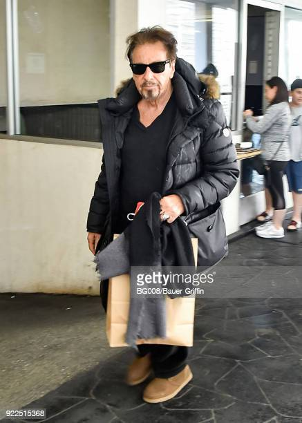 Al Pacino is seen on February 21 2018 in Los Angeles California