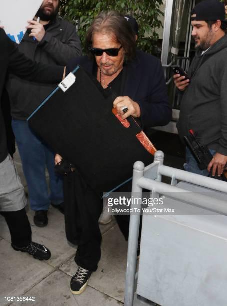 Al Pacino is seen on January 11 2019 in Los Angeles CA