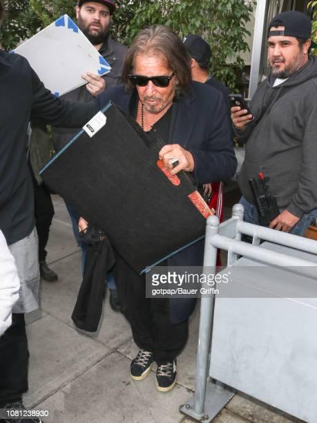 Al Pacino is seen on January 11 2019 in Los Angeles California