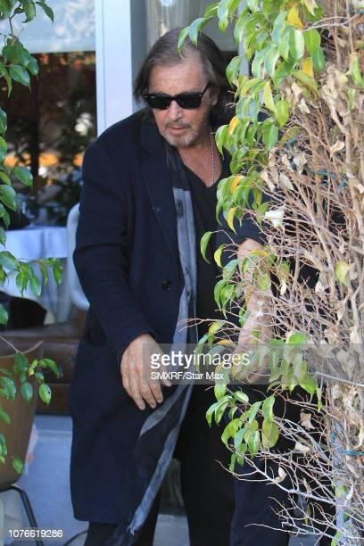 Al Pacino is seen on January 2 2019 in Los Angeles CA