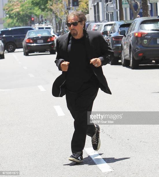 Al Pacino is seen on June 14 2018 in Los Angeles CA