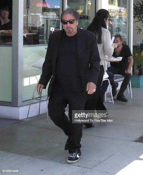 Al Pacino is seen on June 14 2018 in Los Angeles California