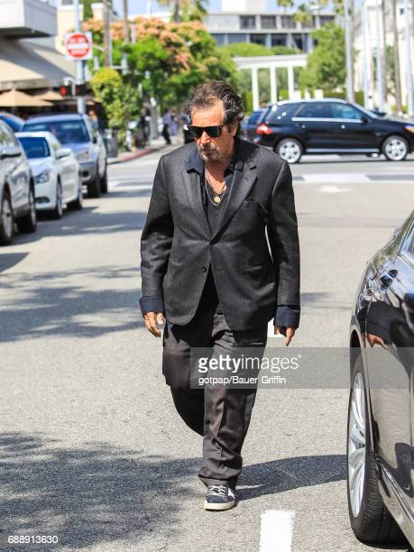 Al Pacino is seen on May 26 2017 in Los Angeles California