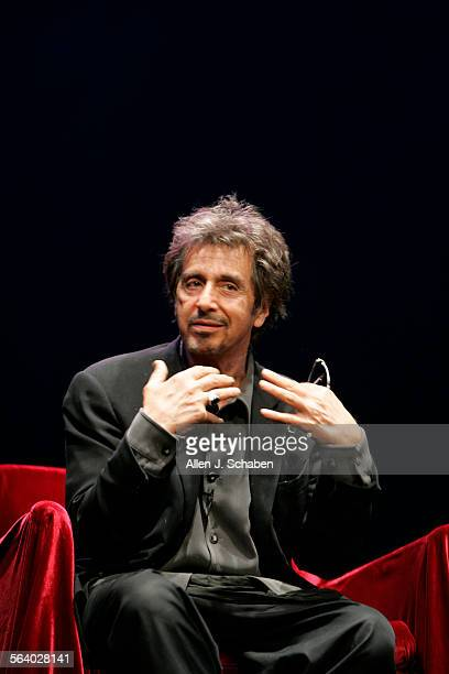 Al Pacino is starring in a stage production of Salome in town – while simultaneously shooting a documentary about the process. We ll shoot a couple...