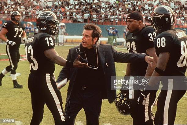 Al Pacino Jamie Foxx and LL Cool J star in the movie 'Any Given Sunday'