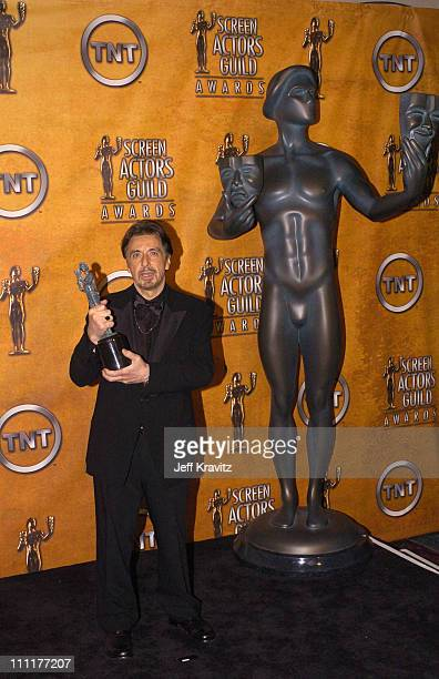 Al Pacino winner for Outstanding Performance by a Male Actor in a Television Movie or Miniseries for Angels in America