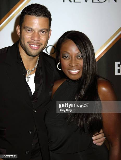 Al Reynolds and Star Jones during Entertainment Weekly Magazine 3rd Annual Pre-Emmy Party - Arrivals at The Cabana Club in Los Angeles, California,...