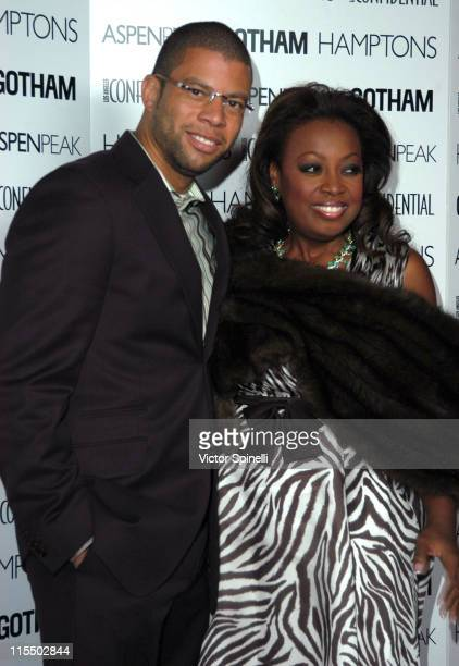 Al Reynolds and Star Jones during Los Angeles Confidential Magazine Welcomes Star Jones to the Golden Globes at Ivar in Los Angeles California United...