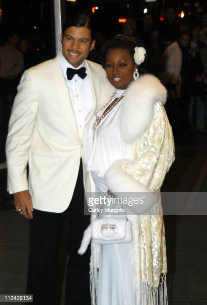 Al Reynolds and Star Jones during Usher's 26th Birthday Party at Rainbow Room in New York City New York United States