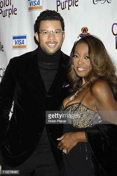 Al Reynolds and Star Jones Reynolds during 'The Color Purple' Broadway Opening Night After Party at The New York Public Library in New York City New...