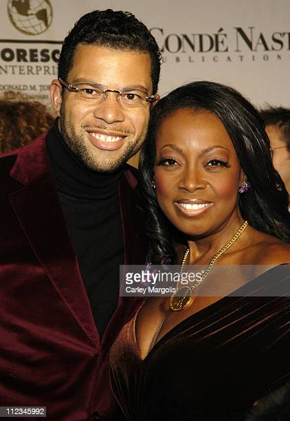 Al Reynolds and Star Jones Reynolds during The GP Foundation for Cancer Research 4th Annual Angel Ball at Marriott Marquis in New York City New York...