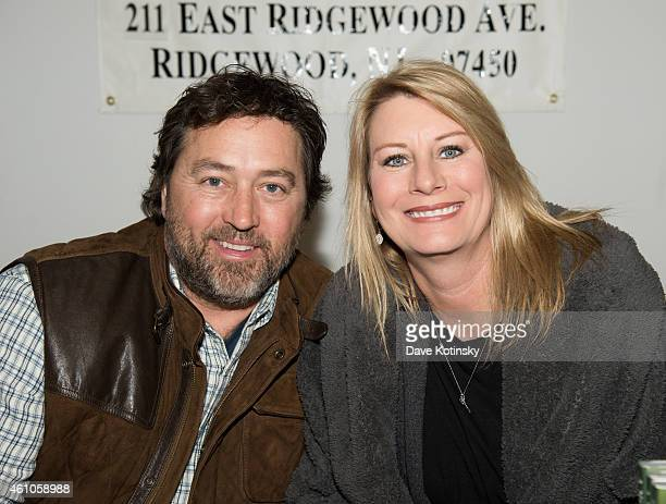 Al Robertson and Lisa Robertson Sign Copies Of Their Book A New Season at Bookends Bookstore on January 5 2015 in Ridgewood New Jersey