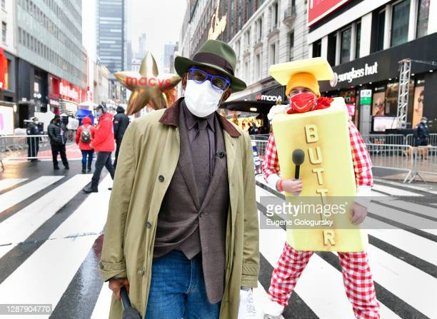 Al Roker and Butter Man appear at the 94th Annual Macy's Thanksgiving Day Parade® on November 26, 2020 in New York City. The World-Famous Macy's...