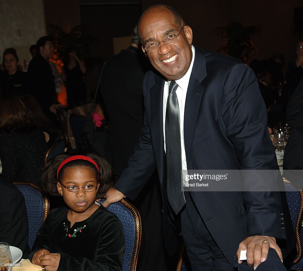 Al Roker and daughter Leila Roker arrive at the 2006 New York Emmy Awards at the the Marriott Marquis on March 12, 2006 in New York City.