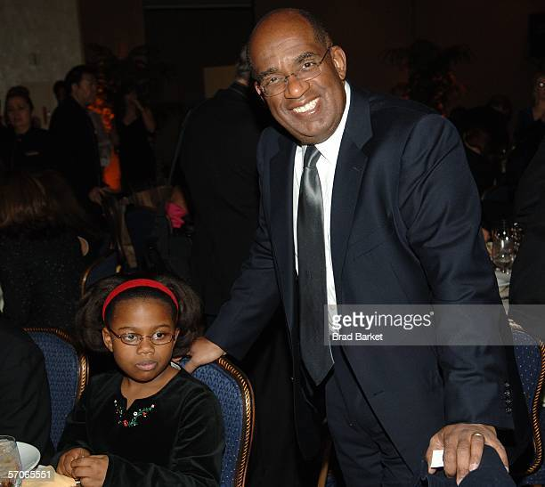 Al Roker and daughter Leila Roker arrive at the 2006 New York Emmy Awards at the the Marriott Marquis on March 12 2006 in New York City