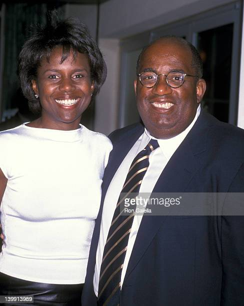 Al Roker and Deborah Roberts at the Ennis William Cosby Foundation Benefit Gala Pier 60 at Chelsea Piers New York City