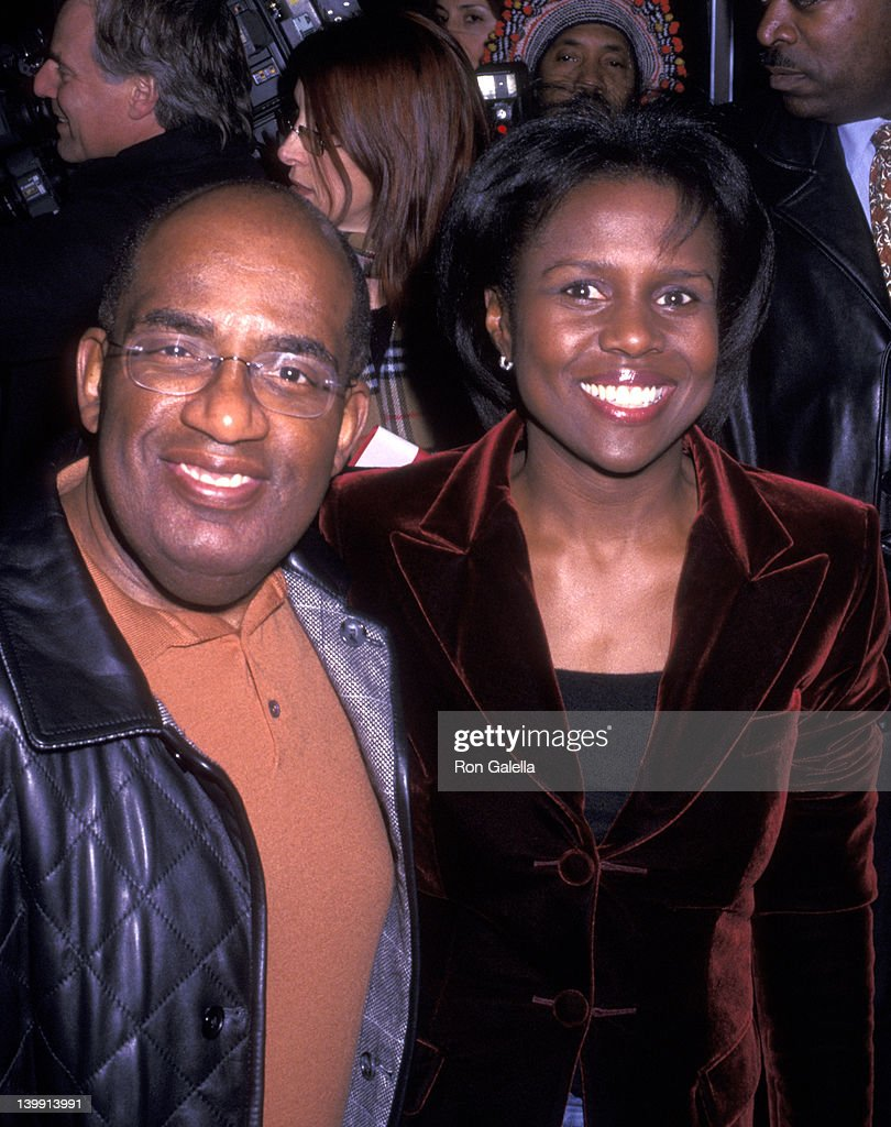 Al Roker and Deborah Roberts at the Premiere of '25th Hour', Ziegfeld Theater, New York City.