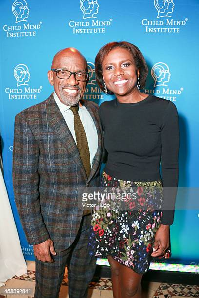 Al Roker and Deborah Roberts attend the Child Mind Institute 2016 Child Advocacy Award Dinner on November 21 2016 in New York City