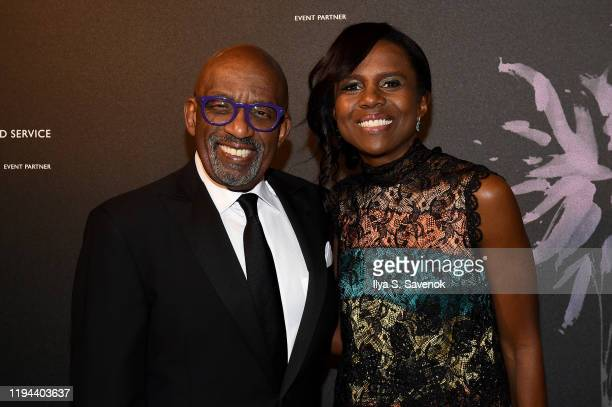 Al Roker and Deborah Roberts attend the Fourth Annual Berggruen Prize Gala celebrating 2019 Laureate Supreme Court Justice Ruth Bader Ginsburg in New...