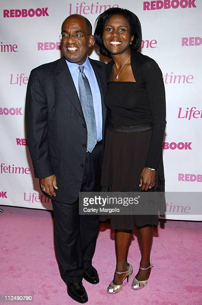 Al Roker and Deborah Roberts during Why I Wore Lipstick to my Mastectomy Lifetime Original Movie Premiere Hosted by Lifetime Television and Redbook...
