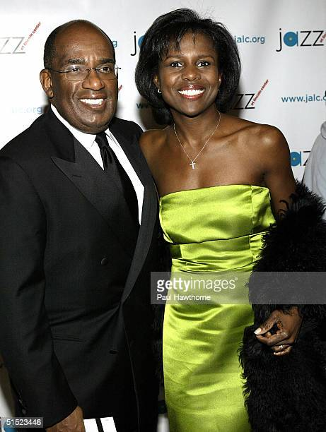 Al Roker and his wife Deborah Roberts arrive at the grand opening of the Frederick P Rose Hall in New York City New York on October 20 2004 The grand...