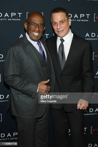 Al Roker and Tony Danza attend the 2019 2nd Annual ADAPT Leadership Awards at Cipriani 42nd Street on March 14 2019 in New York City