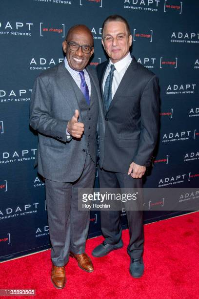 Al Roker and Tony Danza attend the 2019 Adapt Leadership Awards at Cipriani 42nd Street on March 14 2019 in New York City