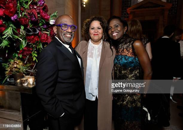 Al Roker Anna Deavere Smith and Deborah Roberts attend the Fourth Annual Berggruen Prize Gala celebrating 2019 Laureate Supreme Court Justice Ruth...